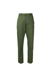 N°21 N21 Contrast Fitted Trousers