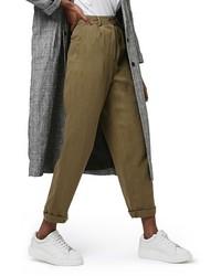 Topshop Y Corduroy Peg Trousers