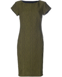 Moschino Boutique Textured Cable Dress