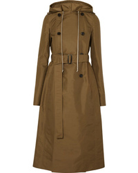 Rick Owens Hooded Shell Trench Coat