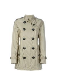 Burberry Kerringdale Double Breasted Raincoat