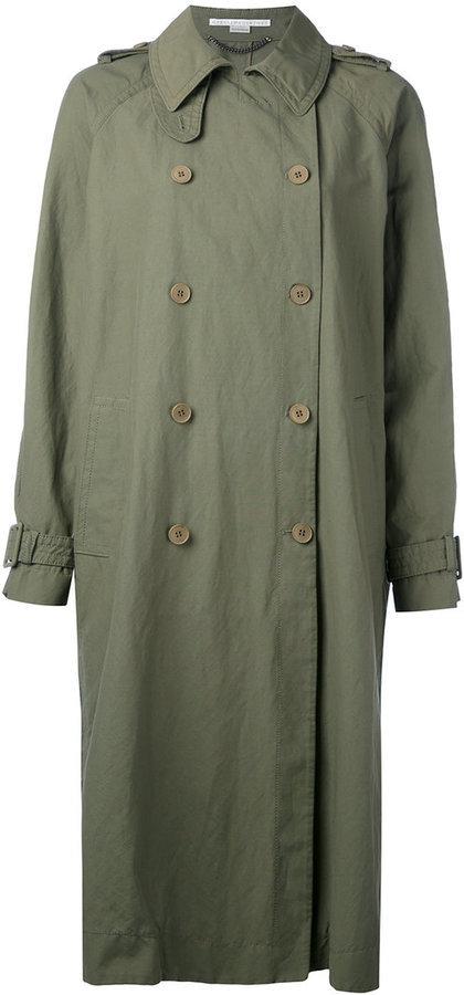 Stella McCartney Oversized Trench Coat