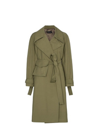 Low Classic Utility Pocket Trench Coat