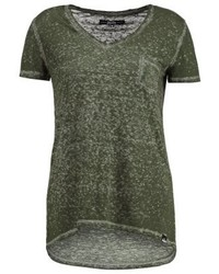 Basic t shirt festival khaki medium 3894913