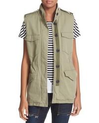 Rag & Bone Jean Bennet Cotton Utility Vest