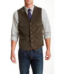 Olive waistcoat original 658818