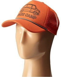 Orange Baseball Cap