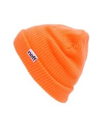 Neff Fold Beanie Orange One Size