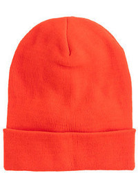 J.Crew Kids Neon Orange Beanie