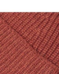 The Workers Club Ribbed Mlange Merino Wool Beanie