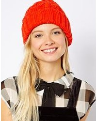 Asos Wool Mix Short Cable Beanie