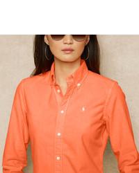 Ralph Lauren Blue Label Slim Fit Oxford Shirt