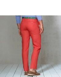 Polo Ralph Lauren Slim Fit Linen Dress Trouser
