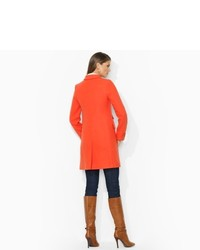 Ralph Lauren Stretch Cotton Pea Coat