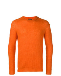 Roberto Collina Long Sleeve Fitted Sweater