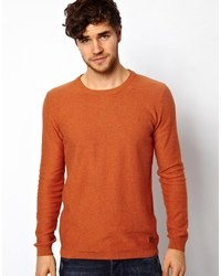 Minimum Sweater With Crew Neck Orange