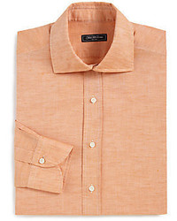 Orange Dress Shirt