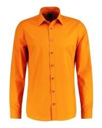 Olymp Body Fit Italian Formal Shirt Orange