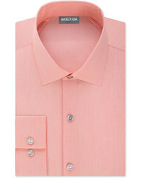 Kenneth Cole Reaction Techni Cole Stretch Slim Fit Solid Dress Shirt