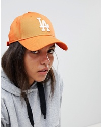 New Era Orange La 9forty Cap