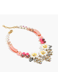 J.Crew Floral Necklace