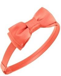 L Erickson Blair Silk Bow Headband