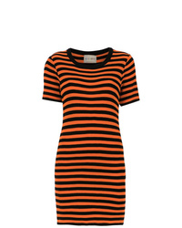 Andrea Bogosian Striped Slim Dress