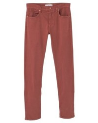 Mango Alex Slim Fit Jeans Burnt Orange