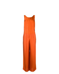 Golden Goose Deluxe Brand Contrasting Stripped Jumpsuit