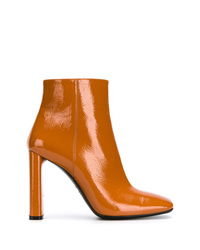 Casadei Varnished Ankle Boots