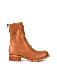 Guidi Zip Front Boots