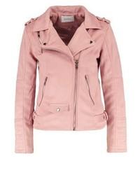 Sparkz New Sofia Faux Leather Jacket Cinnamon