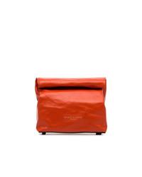 Red lunchbag 20 leather clutch medium 8801795