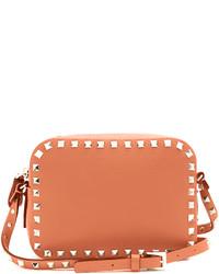 Valentino Rockstud Camera Leather Cross Body Bag