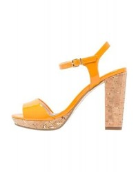 Tamaris High Heeled Sandals Orange