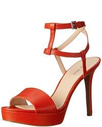 Nine West Shortcake Leather Heeled Sandal