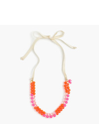 J.Crew Girls Gumball Charm Necklace
