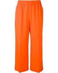 Orange Pajama Pants