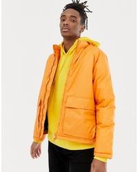 Weekday Jimmy Jacket In Dark Orange