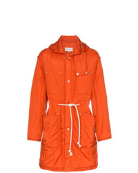 Maison Margiela Orange Nylon Parka