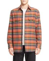 rag & bone Hudson Plaid Shirt Jacket