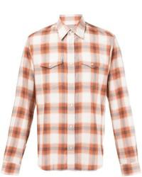 Maison Margiela Plaid Print Shirt