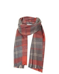 Topshop Traditional Check Small Scarf