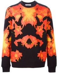 Givenchy Fire Print Sweatshirt