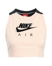 Nike Tank Crop Air Vest Orange Quartzblack Heather