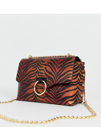 Skinnydip Casey Metallic Tiger Shoulder Bag