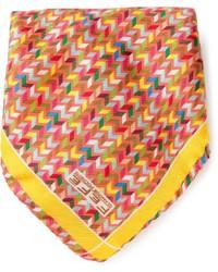 Fef tribal print pocket square handkerchief medium 121749