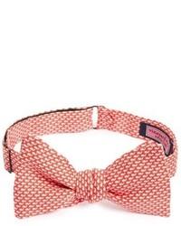 Micro whale print silk bow tie medium 816329