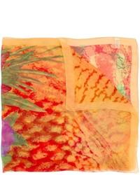 Kenzo vintage flower printed scarf medium 846717