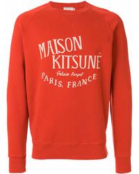 MAISON KITSUNÉ Maison Kitsun Printed Sweatshirt